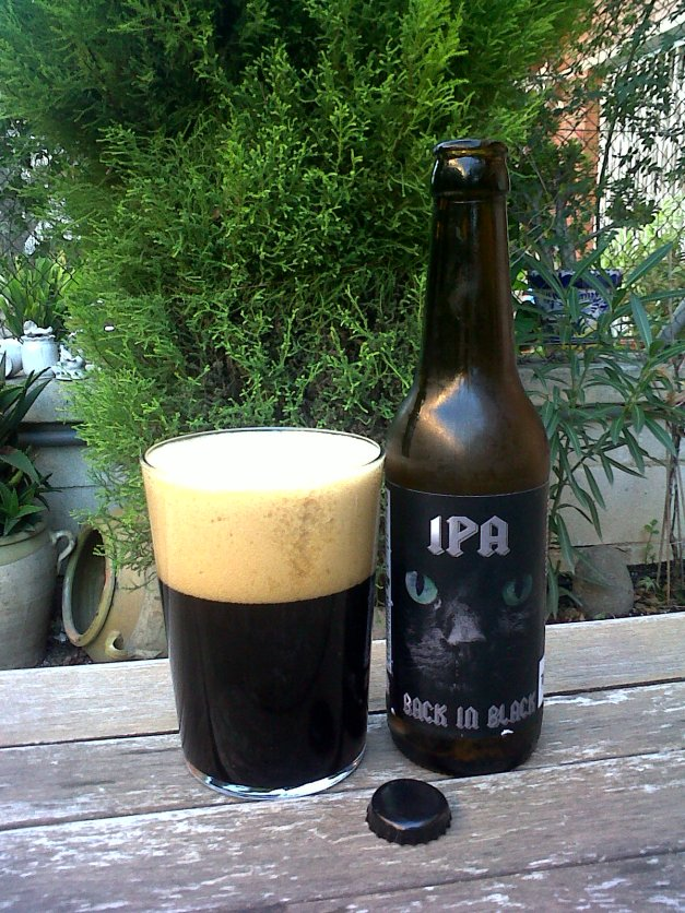 Naparbier IPA Back in Black